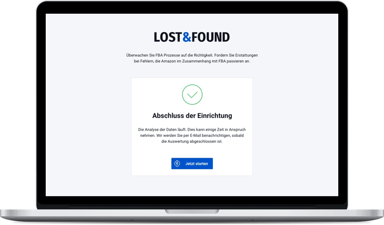 SellerLogic Lost & Found automatisiert Amazon FBA Fehler finden