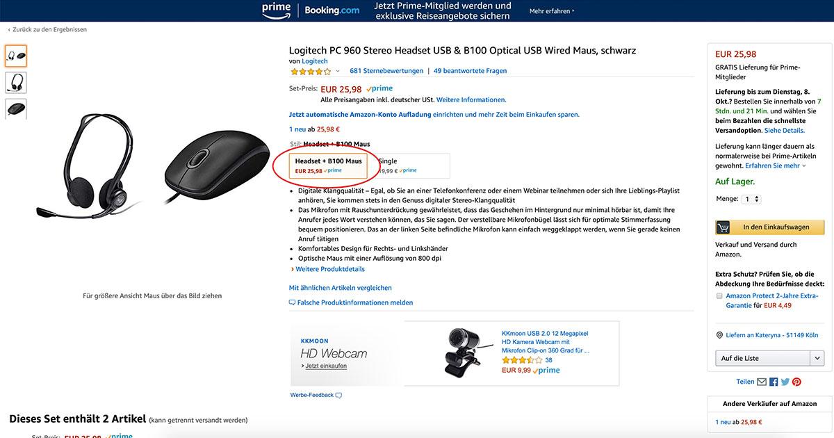 SellerLogic: Handelsware auf Amazon verkaufen