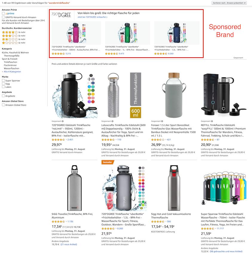 Amazon PPC: Erklärung von Sponsored Brands