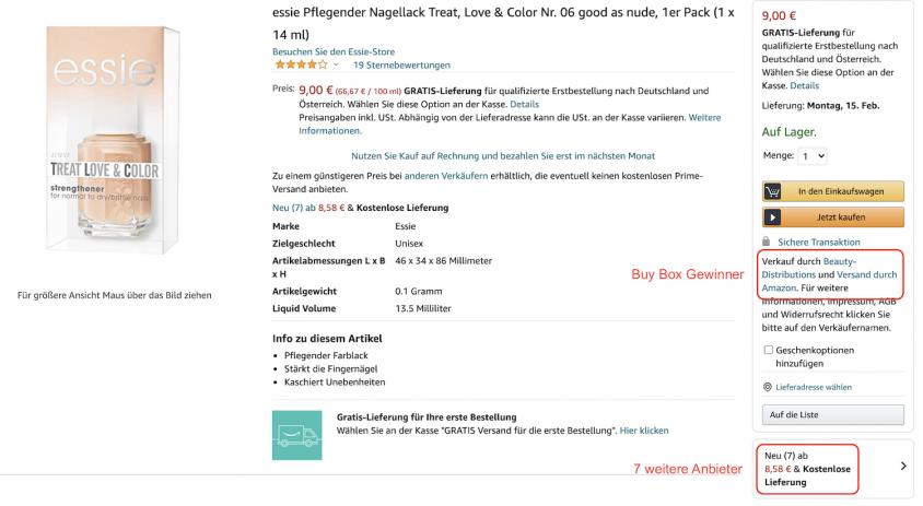 Auf Amazon zu verkaufen ist mit Basiskonto möglich – für Gewerbe kommt aber eigentlich nur der professionelle Tarif in Frage.