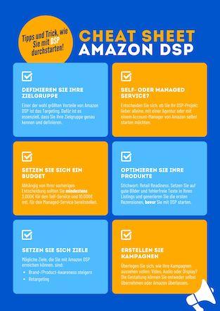 Amazon DSP Cheat Sheet
